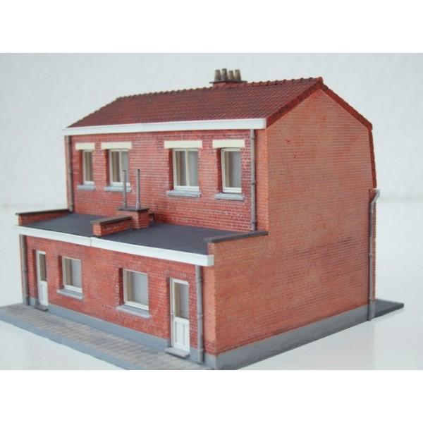 kit nord double maison de coron. Black Bedroom Furniture Sets. Home Design Ideas