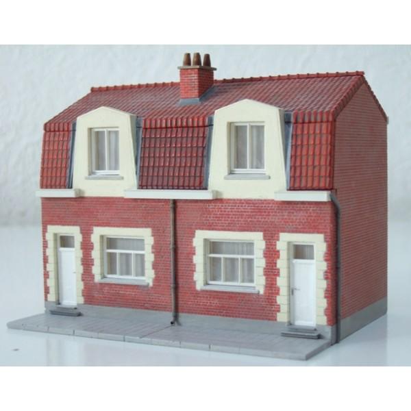 Kit nord double maison de coron for Algeco maison individuelle